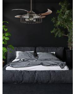 Fanaway Sheridan 48-inch Oil Rubbed Bronze AC Ceiling Fan with Light