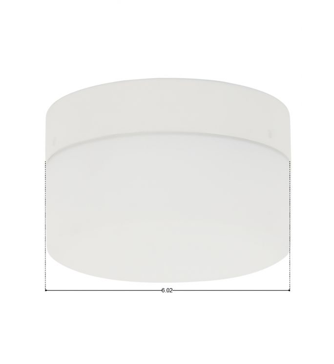 Lucci Air Climate White Glass Ceiling Fan Light Kit