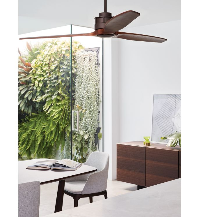 Lucci Air Akmani Oil Rubbed Bronze and Koa 60 DC Ceiling Fan