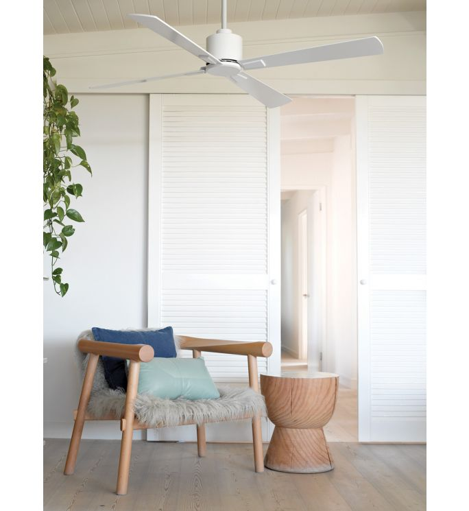 Lucci Air Climate White 52-inch DC Ceiling Fan