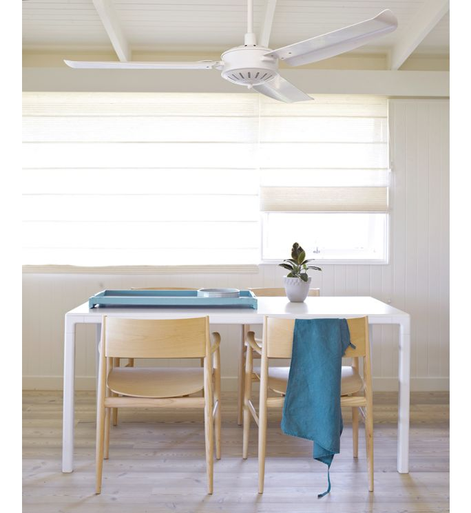Lucci Air Carolina Antique White 56-inch Ceiling Fan