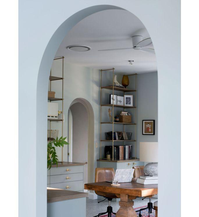 Lucci Air Radar 52-inch White DC Ceiling Fan