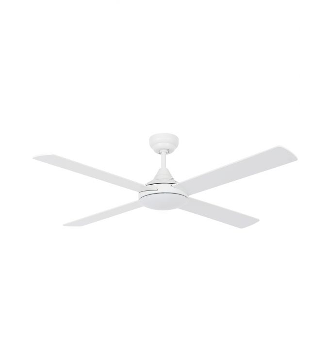 Lucci Air Airlie II White 52-inch with Remote Ceiling Fan