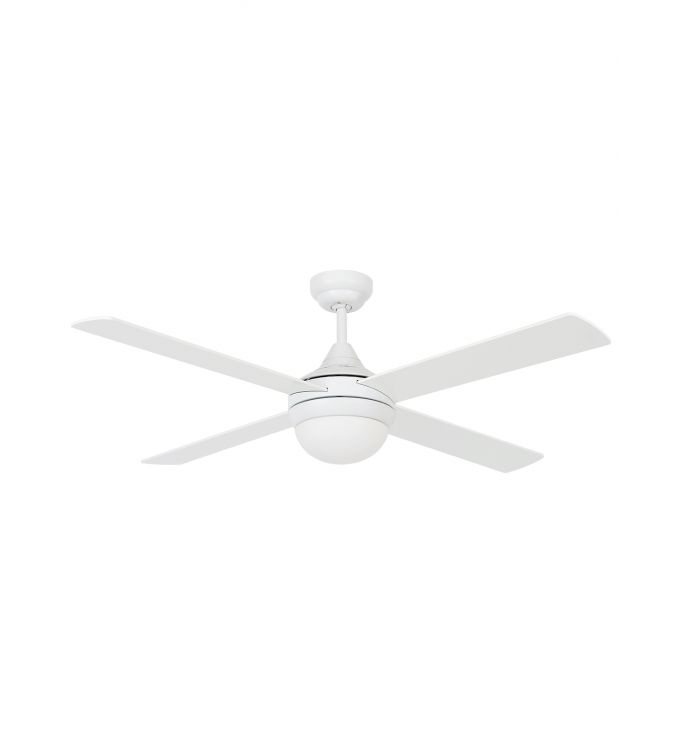 Lucci Air Airlie II Eco White 52-inch Light with Remote Ceiling Fan