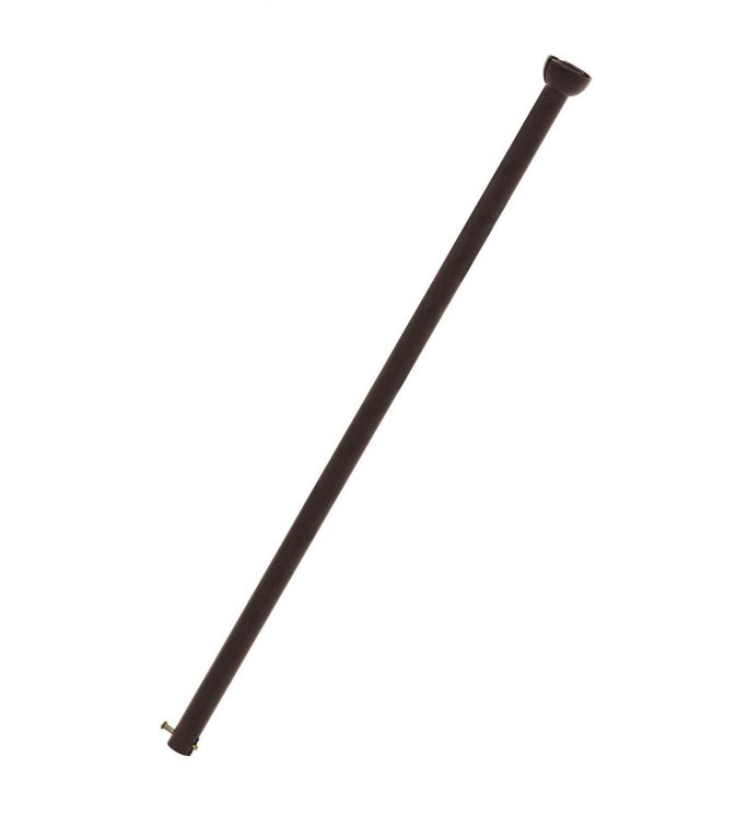 Fanaway 24-inch Oil Rubbed Bronze Downrod without Lines